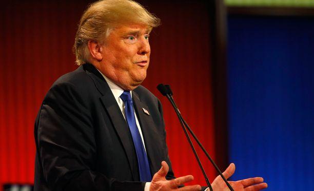 Donald Trump johtaa tällä hetkellä republikaanien presidenttiehdokaskilpailua.