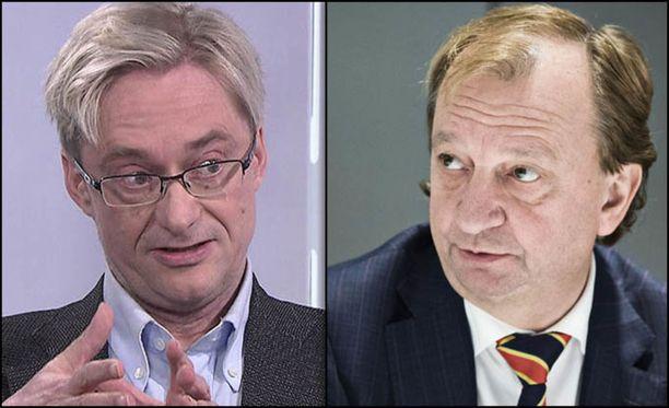 Mikael Junger ja Harry Harkimo luotsaavat yhdessä Liike Nyt -yhdistystä.