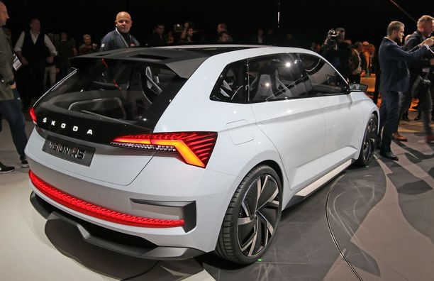 Tämännäköistä Škoda-muotoa on lupa odottaa.