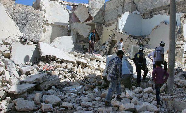 Yhdysvallat on myöntänyt 364 miljoonaa dollaria Syyrian auttamiseksi, maan ulkoministeriö kertoi.