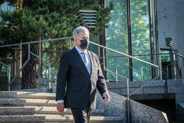 Mäntyniemen virka-asuntoa aletaan kunnostaa vasta sitten, kun tasavallan presidentti Sauli Niinistö on jättänyt tehtävänsä.