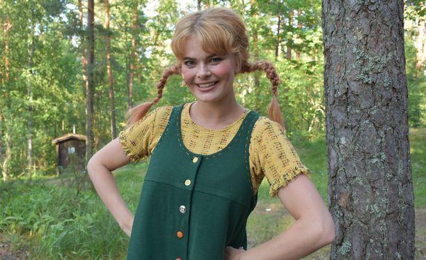 Rooli Peppi Pitkätossuna on ollut Erika Vikmanille unelmien täyttymys.