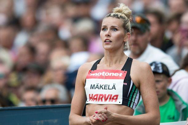 Loukkaantumisista kärsinyt Kristiina Mäkelä loisti monen muun tavoin Kalevan kisoissa.