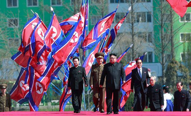 Kim Jong-unin hallitsema Pohjois-Korea on maailman suljetuin yhteiskunta.
