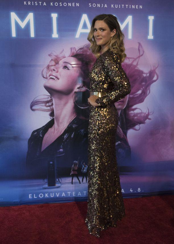 Krista Kosonen näyttelee pääosaa uudessa Miami-elokuvassa.