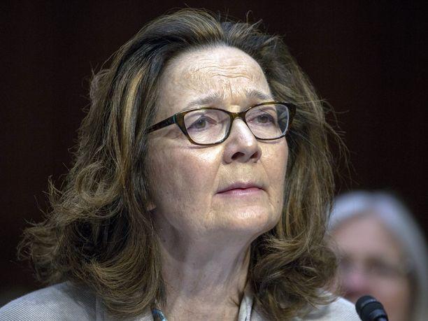 Gina Haspel on johtanut CIA:ta maaliskuusta lähtien.