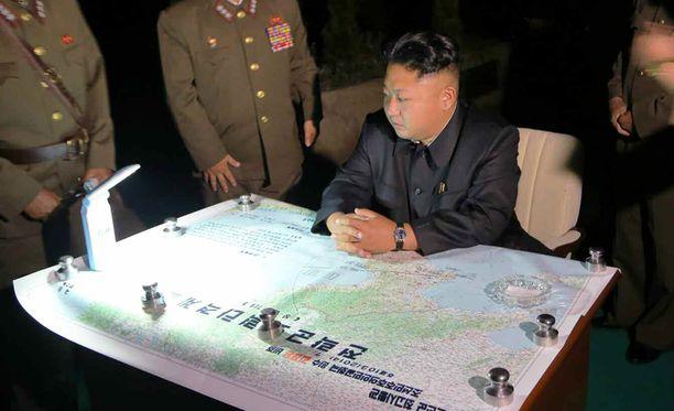 Sen lisäksi että Kim johtaa maansa politiikkaa, on myös maan asevoimien strateginen johtaminen hänen alaansa.