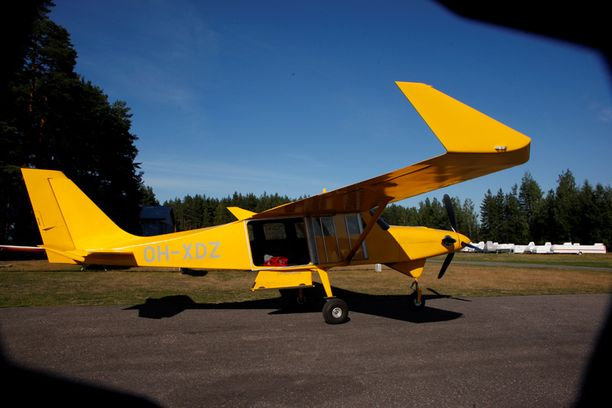 Marko Mäkelä selvisi Comp Air 8 -koneen onnettomuudesta vain pienellä naarmulla ja niskakivuilla.