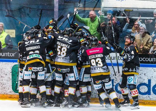 Kärpät oli kauden 2017-2018 hallitsija.