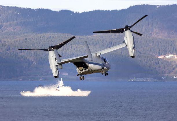 Naton Trident Juncture -sotaharjoitus järjestettiin loka-marraskuun vaihteessa. Kuva on Norjan Trondheimista.