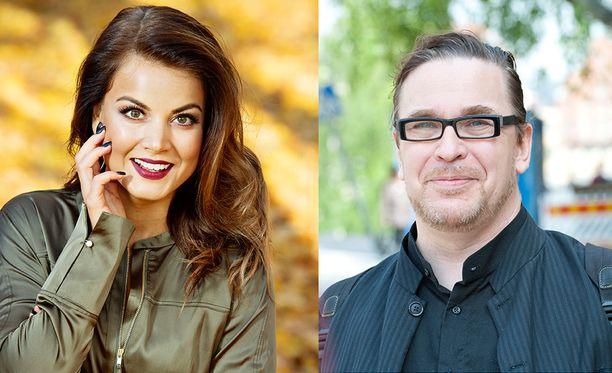 Janni Hussi ja Jyrki Kasvi ovat tänään Susanne Päivärinnan vieraina.