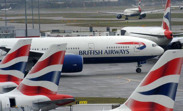 Kansallinen British Airways on kotimaansa suurin lentoyhtiö laivostan koon, kohteiden määrän ja lentojen lukumäärän perusteella.