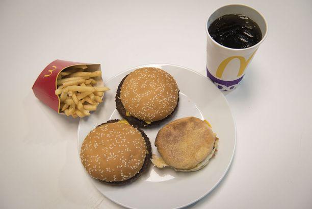 Tältä Trumpin lempiruokakombo McDonaldista näyttää.