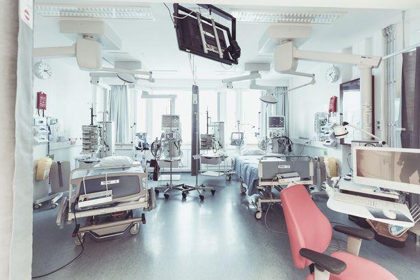 Tehohoidossa on tällä hetkellä 20 potilasta.