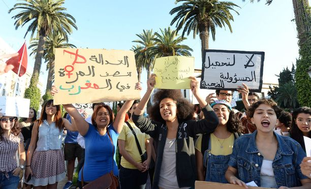 Marokossa on ollut useita mielenosoituksia naisten julkisilla paikoilla kohtaamaa ahdistelua vastaan.