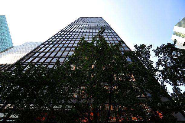 Seagram Building on Ludwig Mies van der Rohen ja Philip Johnsonin suunnittelema pilvenpiirtäjä Manhattanilla.