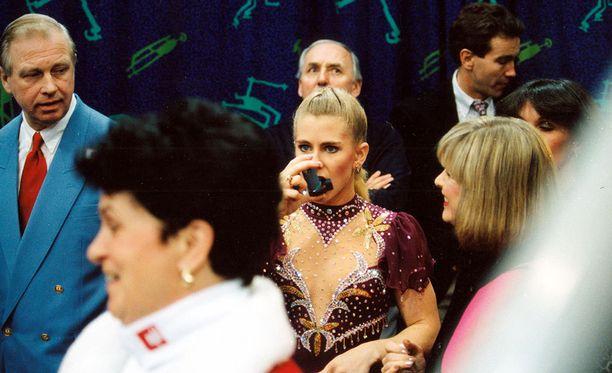 Lillehammerin olympialaiset päättyivät Tonya Hardingin kohdalla pettymykseen. Hän oli kilpailussa vasta kahdeksas.