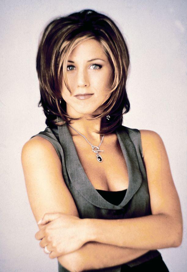 Jennifer Aniston Frendit-sarjassa vuonna 1995.