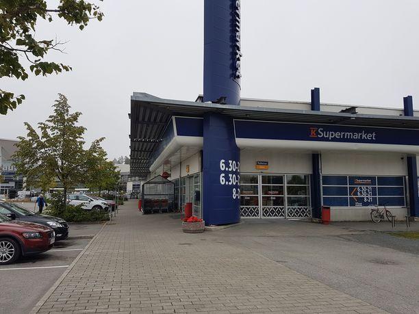 K-Supermarket Herkkupata oli paikka, jossa 92 miljoonan euron kimppapeli pelattiin.