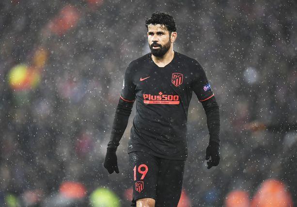Veronkierto kävi Diego Costalle kalliiksi.