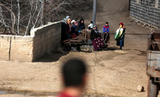 Afrinin kaupunki on ollut kurdien hallussa.