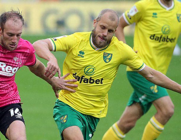 Norwichin Teemu Pukki on osunut tällä kaudella vasta kerran.