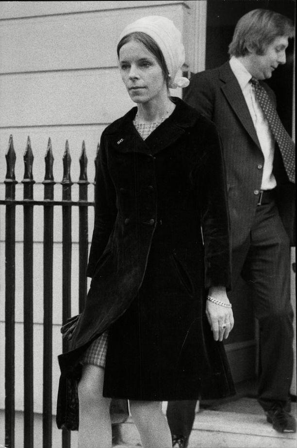 Lady Lucan vuonna 1975.