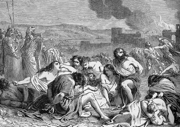 Varsinkin Vanha testamentti on täynnä tuhoa ja tappamista.