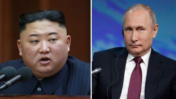 Pohjois-Korean Kim Jong-un ja Venäjän Vladimir Putin tapaavat huhtikuussa Venäjällä.