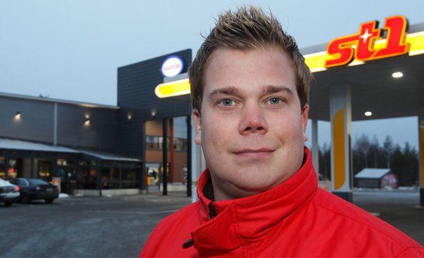 Olli-Pekka Mäkipeura kertoo, että hän on kasvanut yrittäjäksi.