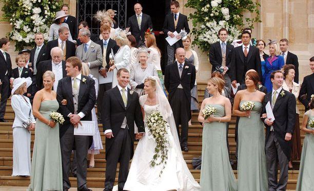 Peter Phillips ja Autumn Kelly avioituivat miltei päivälleen kymmenen vuotta sitten.