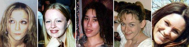 Wright valitsi uhreikseen huumeriippuvuudesta kärsiviä nuoria naisia.