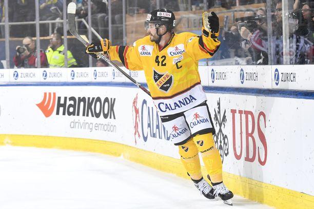 KalPan Tommi Jokinen teki lauantaina voittomaalin alivoimalla tyhjään maaliin siirretyn rangaistuksen aikana.