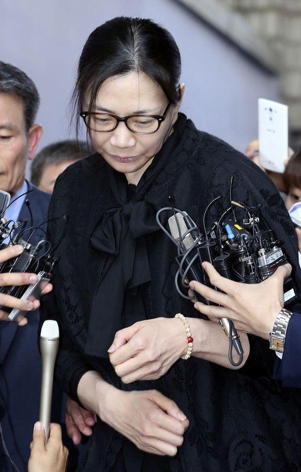 Lennolla purserina toiminut Park Chang Jin on haastanut Cho Hyun-Ahin (kuvassa) oikeuteen.