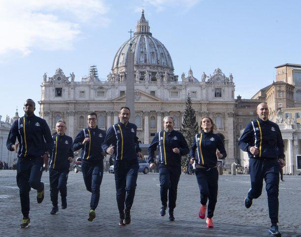 Noin tuhannen asukkaan Vatikaani lanseerasi yleisurheiluliiton ja maata edustavan kilpajoukkueen torstaina.