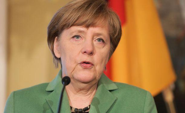 Angela Merkelille myönnettiin kansainvälinen tasa-arvopalkinto.