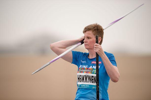 Marjaana Heikkisen mukaan helteinen kokemus oli jopa pelottava.
