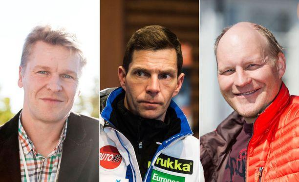 Nimekäs joukko: Toni Nieminen hyppäsi Albertvillessä vuonna 1992 kaksi olympiakultaa ja yhden -pronssin. Janne Ahonen on viisinkertainen maailmanmestari ja viisinkertainen mäkiviikon voittaja. Kalle Palander on pujottelun maailmanmestari ja maailmancupin voittaja (2002-03).