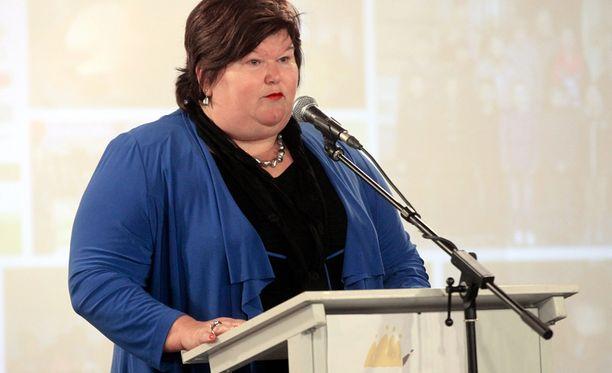 Maggie De Blockia on arvosteltu hänen ylipainonsa vuoksi.