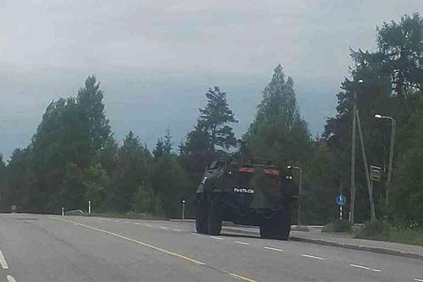 Poliisi Panssariauto