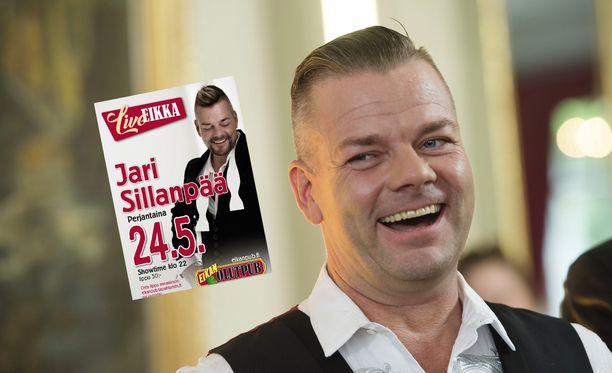 Jari Sillanpää esiintyy toukokuussa Eikan Pubissa.
