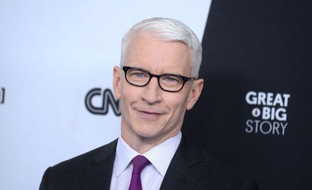 Anderson Cooper kuuluu CNN:n tunnetuimpiin kasvoihin.