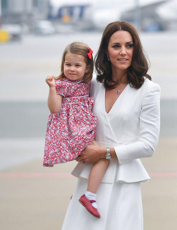 Charlotte oli nähty viimeksi julkisuudessa Puolan vierailulla heinäkuussa.