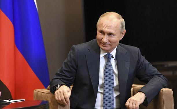 Venäläismedian mukaan Putinilla on salattu tytär. Kuva Venäjän presidentistä otettu 12. marraskuuta 2020 Sotshissa.