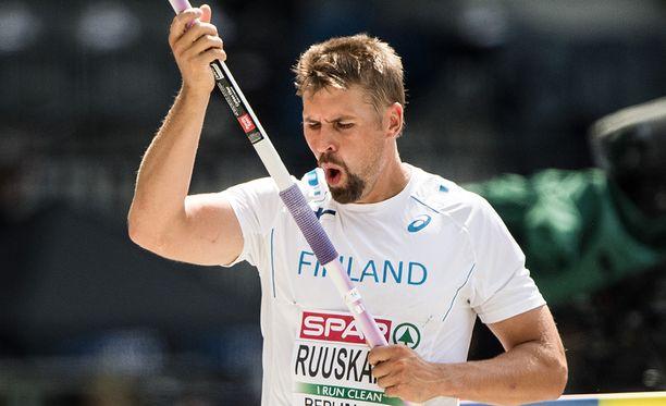 Antti Ruuskanen ehti kuntoutua olkapääleikkauksen ja välivuoden jälkeen finaali-iskuun.