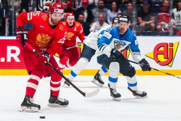 Mihail Grigorenko kuuluu Venäjän maajoukkueen vakiokalustoon. Juho Lammikon hän kohtasi viime vuoden MM-kilpailujen välierässä, jolloin Suomi oli vahvempi luvuin 1-0.