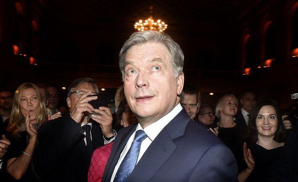 Sauli Niinistö jatkaa presidenttinä seuraavan kuuden vuoden ajan.