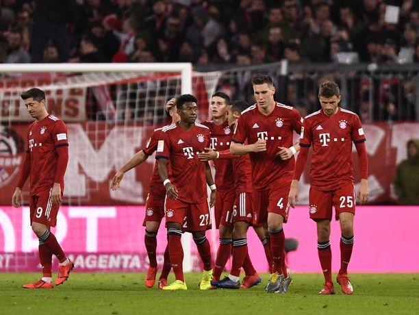 Bayern München mässäili maaleilla kotistadionillaan.