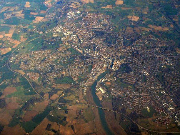 Ipswich sijaitsee Suffolkin kreivikunnassa, Itä-Englannissa.