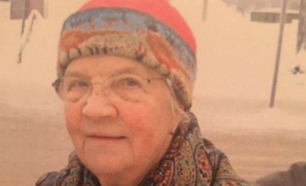 88-vuotias Maila Jalo on kadonnut Järvenpäässä.